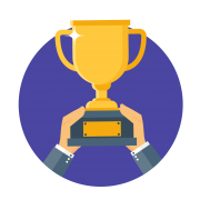 trophy gamification