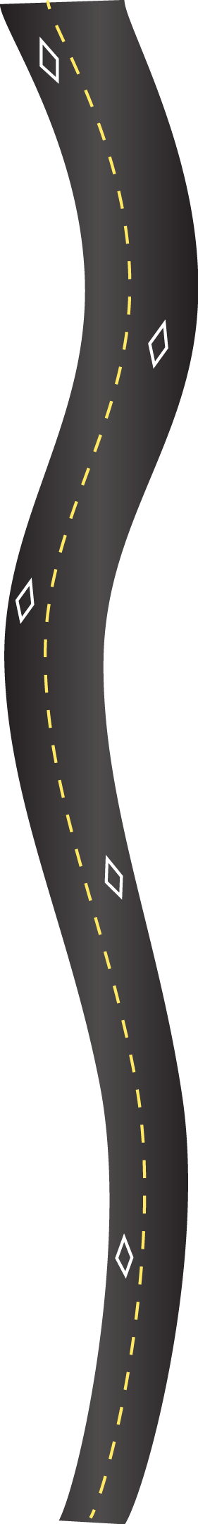HOV road lane