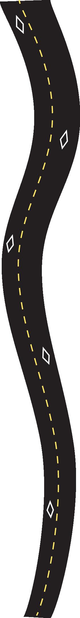 HOV road lane