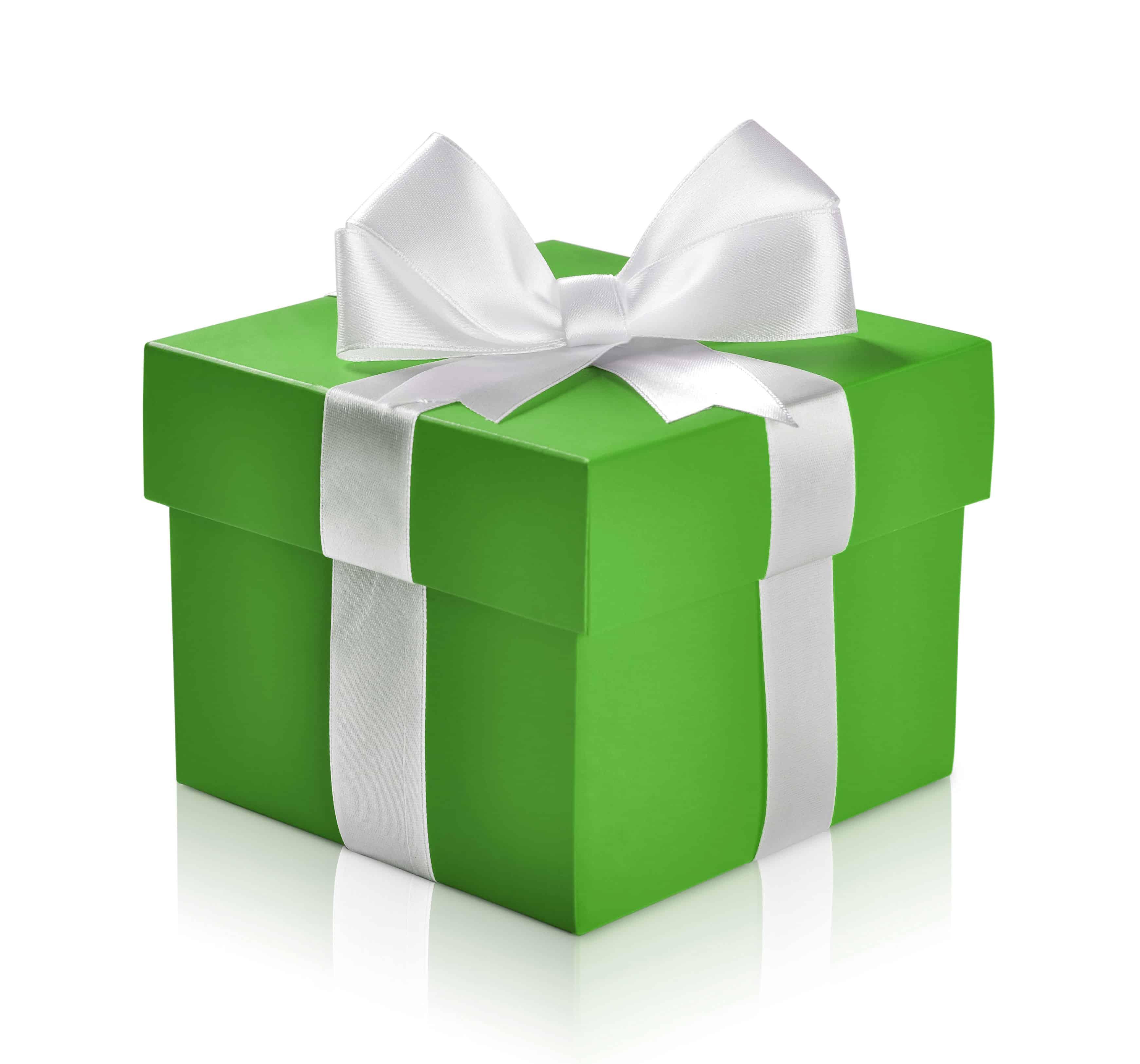 green rewards present