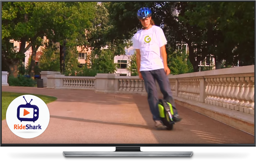 Compact Portable Electric Unicycle For Cities