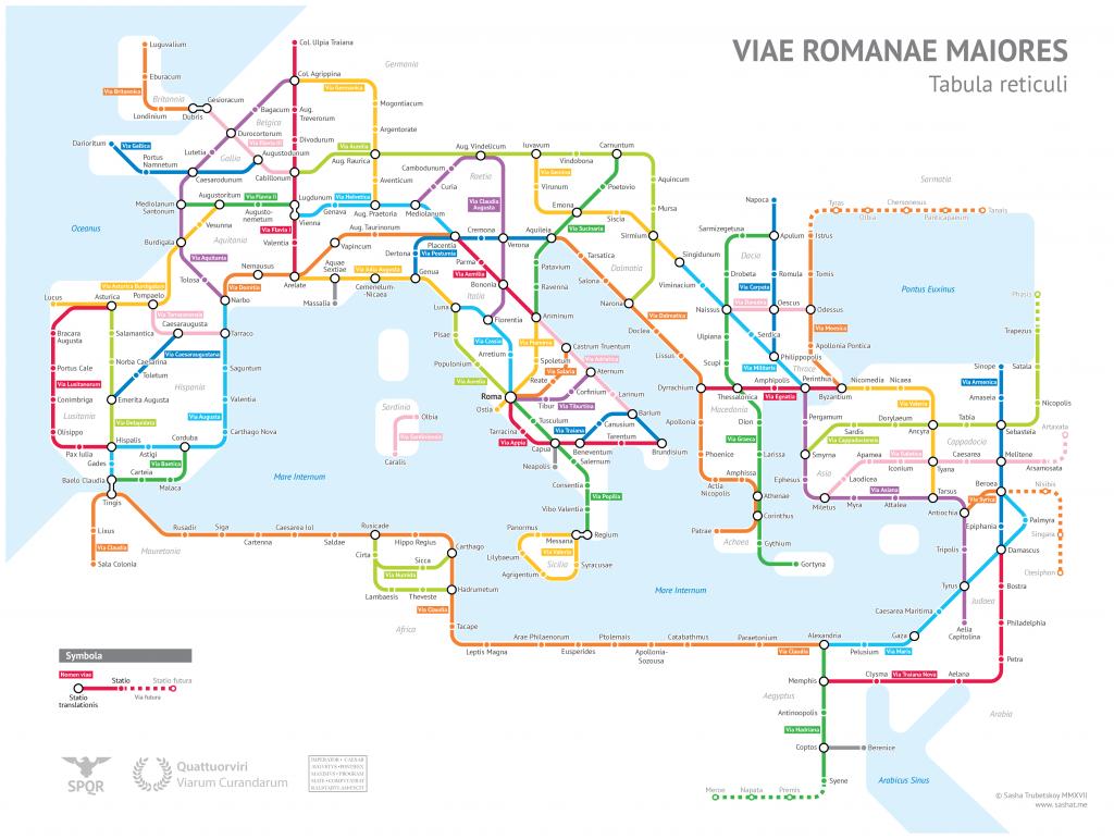 viae romanae maiores