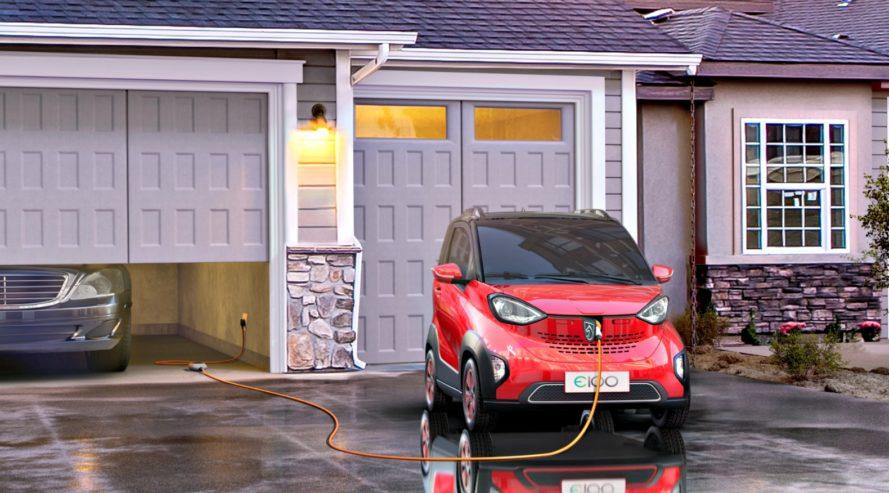 General Motors' New Electric Car ... The Baojun E100